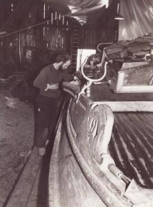 scheepstimmerwerf De Hoop Workum 1978